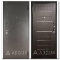 Дверь ДА-1/2 (серебро антик / Линея венге тисненый)