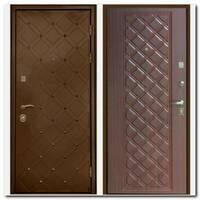 Дверь Сундук (бронза/махагон коричневый)