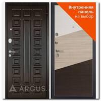 Дверь Люкс АС 2П Сенатор венге / внутренняя панель на выбор
