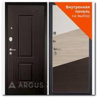 Дверь Люкс АС 2П Триумф венге / внутренняя панель на выбор
