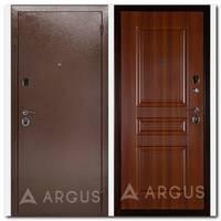 Дверь ДА-7 (антик медный / Арне дуб рустикальный)