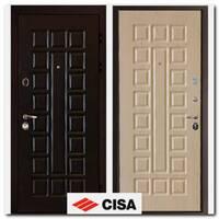 Дверь Сенатор Cisa (венге/беленый дуб)