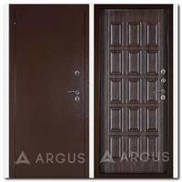 Дверь Тепло-4 (молоток коричневый / Шоколад шелк венге)