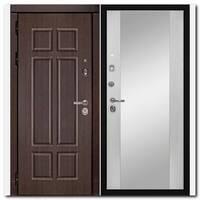Дверь HD4 / Зеркало Белое